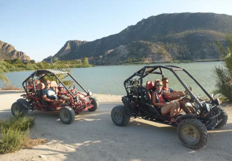 Rafting, kayaking, canoeing, canyoning, buggy routes and 4-by-4 tours with MurciAventuraS in the beautiful Ricote valley