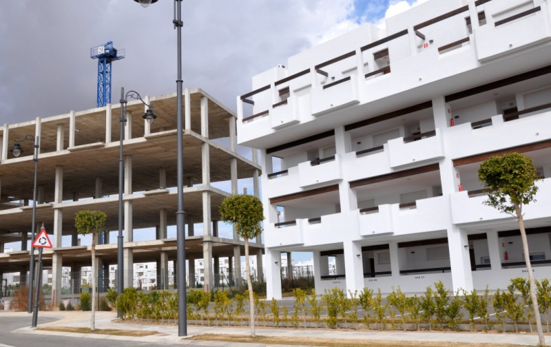 <span style='color:#780948'>ARCHIVED</span> - 20,000 completed homes remain unsold in Murcia a decade after the market crash