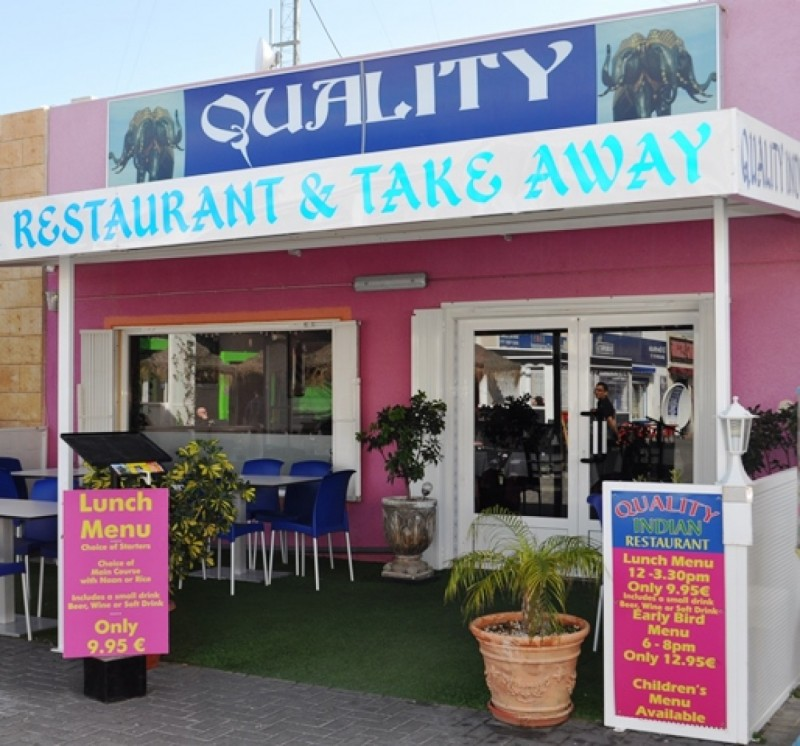 Quality Indian Restaurant Camposol B