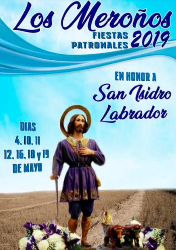 <span style='color:#780948'>ARCHIVED</span> - 4th to 19th May, annual fiestas of Los Meroños, Torre Pacheco