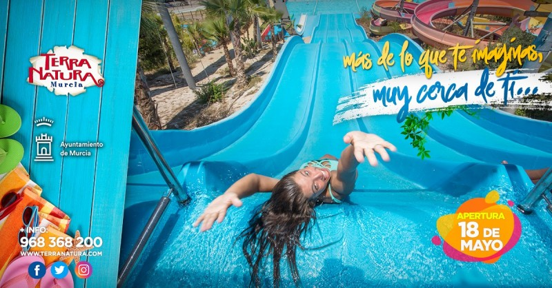Waterpark open at Terra Natura Murcia; pay once and go back free again offer!
