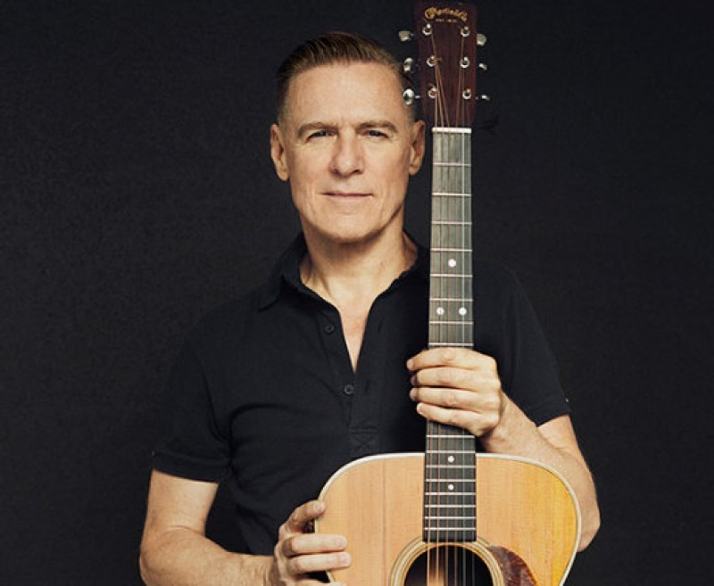 3rd December, Bryan Adams in concert in Murcia