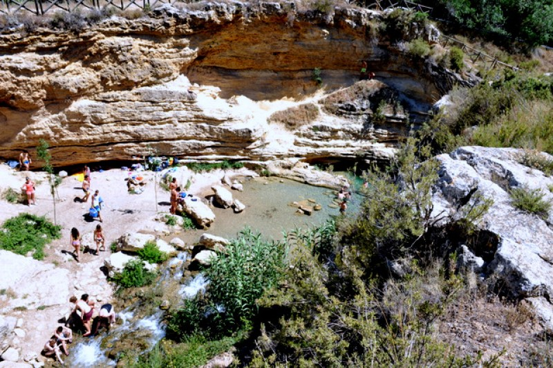 <span style='color:#780948'>ARCHIVED</span> - Summer visitor numbers restricted at the Salto del Usero bathing spot in Bullas