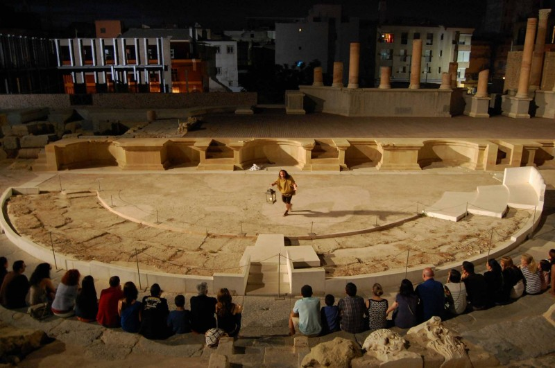 <span style='color:#780948'>ARCHIVED</span> - Every weekend in June: Virtual reality tours and cultural tours; Roman Theatre Cartagena