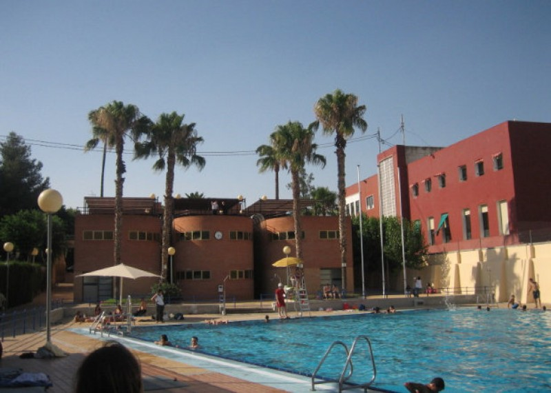 Summer 2019, open-air public swimming pools in the municipality of Murcia