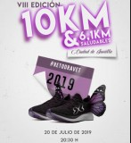 20th July, 10-k and 6.1-k charity running races in Jumilla
