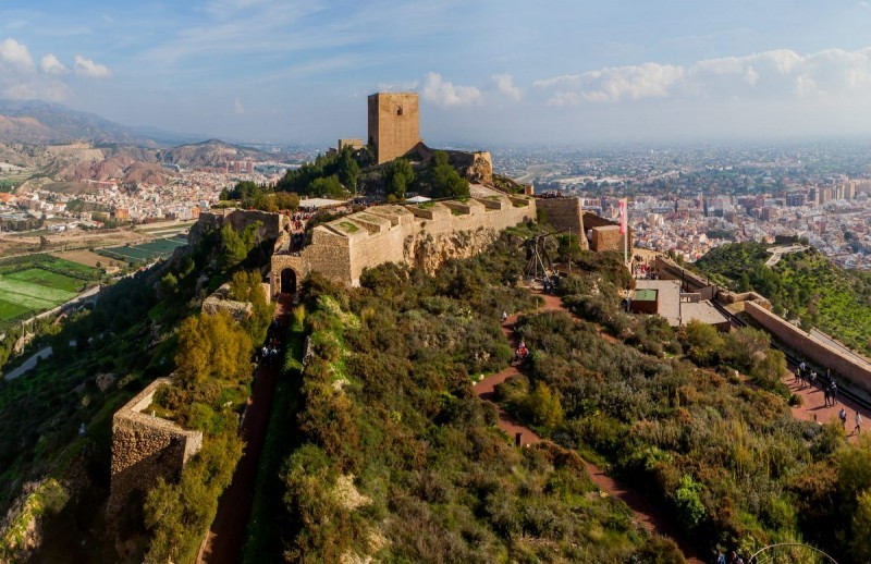 <span style='color:#780948'>ARCHIVED</span> - Lorca castle joins butterfly breeding ground network
