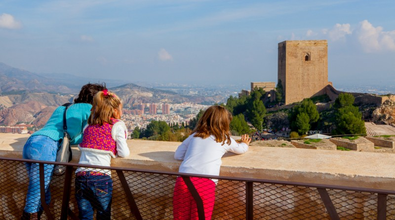 Lorca castle in September: Opening times, day and evening tours, special packages