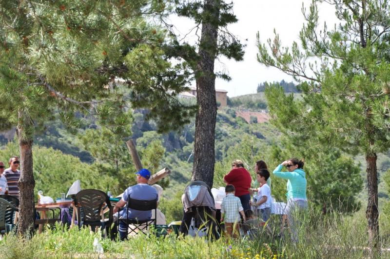 Enjoy a BBQ in the Sierra Espuna between October and May