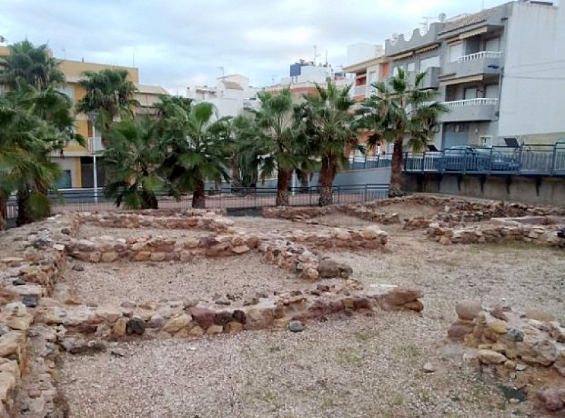 <span style='color:#780948'>ARCHIVED</span> - Roman ruins spruced up in Puerto de Mazarrón after the gota fría storm