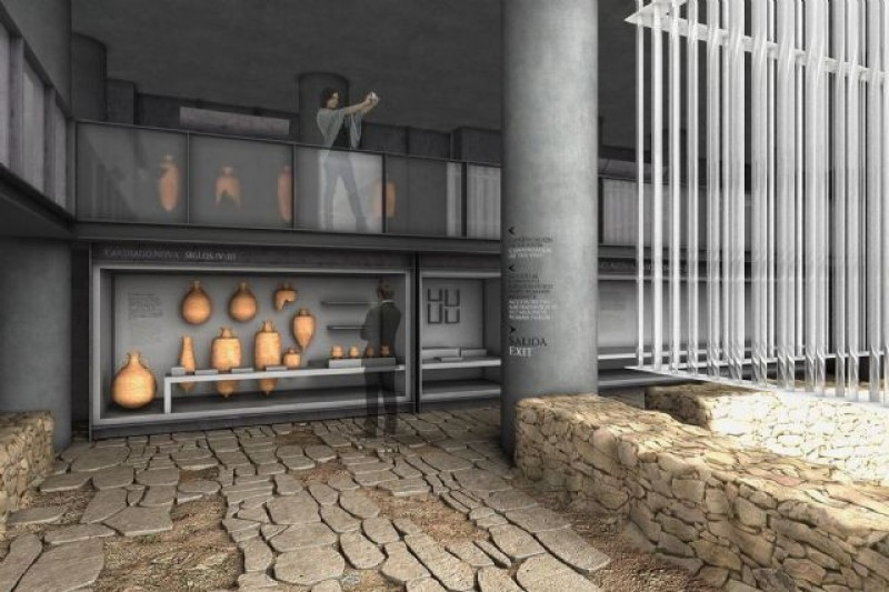 <span style='color:#780948'>ARCHIVED</span> - Marble floor restoration delays opening of Roman Forum museum in Cartagena