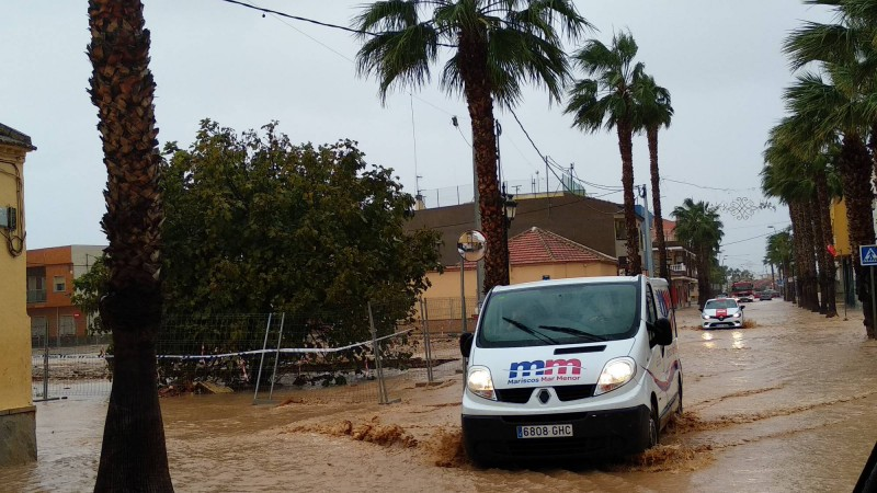 <span style='color:#780948'>ARCHIVED</span> - Worse gota fría flooding in Murcia was avoided on Tuesday by preparatory precautions