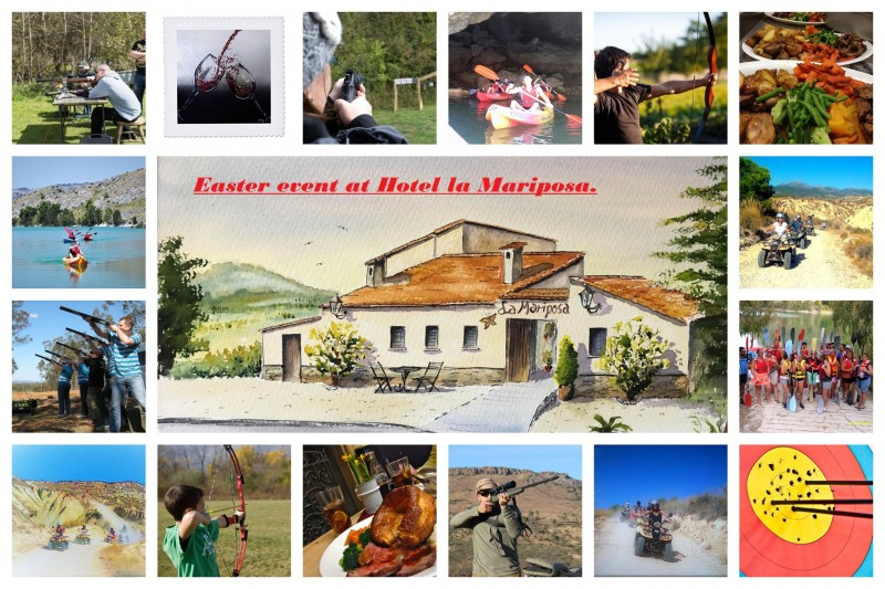 10th to 12th April Easter special package at the Hotel Mariposa Sierra Espuña