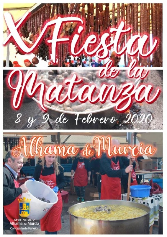 <span style='color:#780948'>ARCHIVED</span> - 8th and 9th February 2020: Fiesta de la Matanza Alhama de Murcia