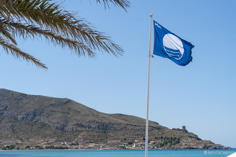<span style='color:#780948'>ARCHIVED</span> - Blue Flag beaches in the municipality of San Javier 2020