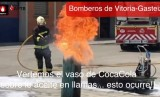 Video from fire services showing why you should never pour Coca Cola onto a cooking fire