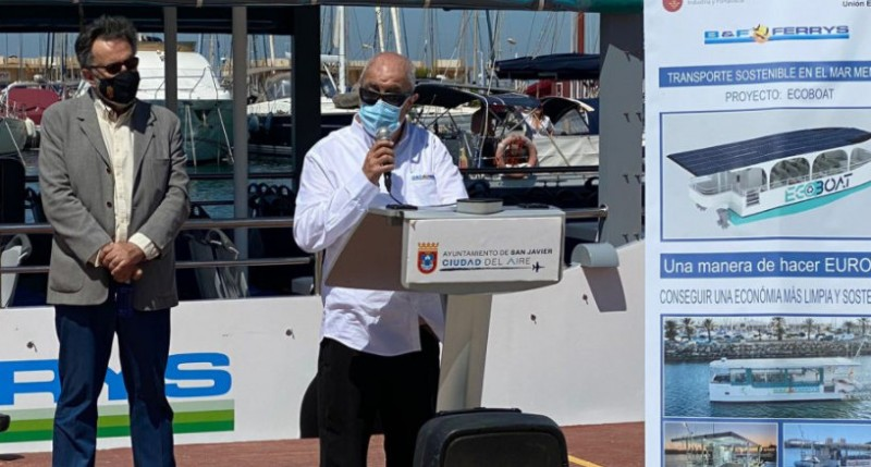 Solar-powered Ecoboat operates Mar Menor summer ferry service