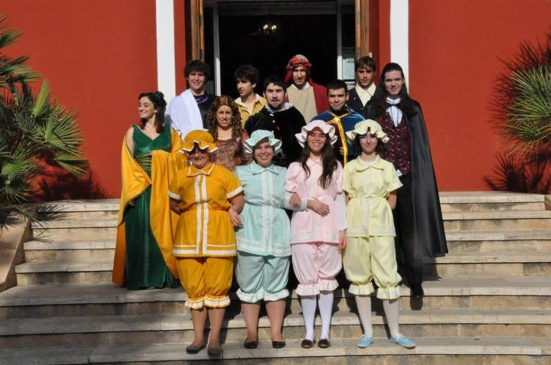 Free guided theatrical tour of Alhama de Murcia June 20