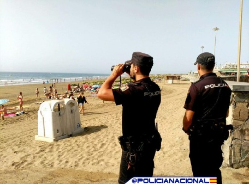 <span style='color:#780948'>ARCHIVED</span> - Operation Summer: additional 3,821 police officers deployed to popular Spanish regions