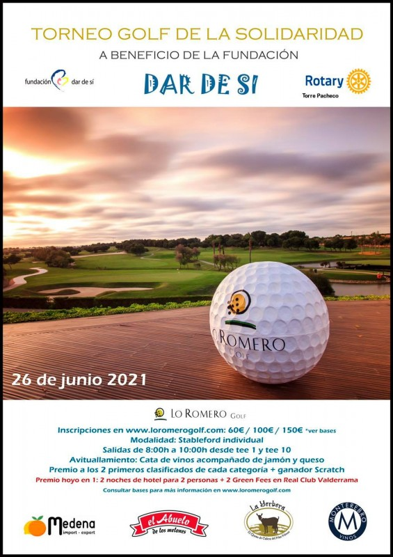 <span style='color:#780948'>ARCHIVED</span> - Solidarity Golf Tournament at Lo Romero Golf to help those with mental disabilities