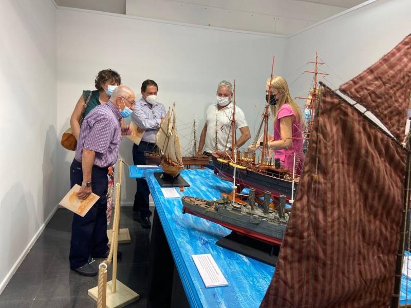 <span style='color:#780948'>ARCHIVED</span> - Puerto de Mazarron  hosts naval modeling exhibition until September 12