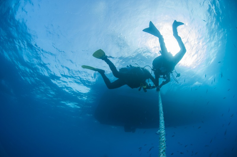 <span style='color:#780948'>ARCHIVED</span> - Man suffers decompression syndrome after diving in Cabo de Palos