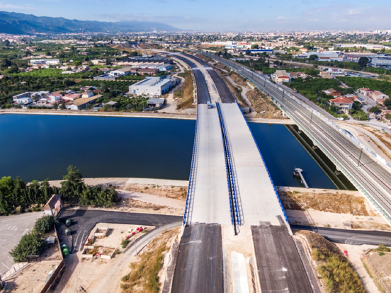 <span style='color:#780948'>ARCHIVED</span> - New section of motorway opens, offering two routes between Murcia city and the coast