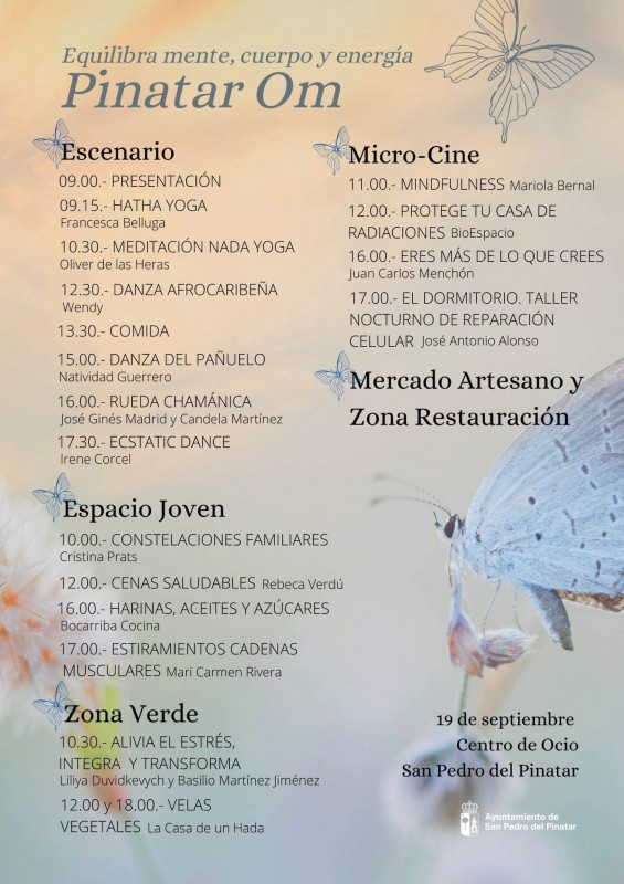 <span style='color:#780948'>ARCHIVED</span> - Yoga, dance and meditation festival in San Pedro: September 19