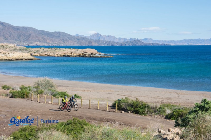 <span style='color:#780948'>ARCHIVED</span> - Aguilas included in scenic European bicycle routes