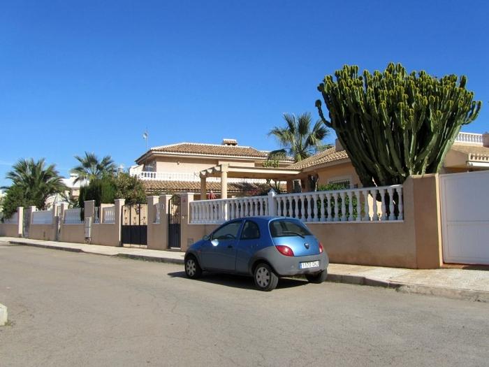 Estrella de Mar residential area in Los Urrutias