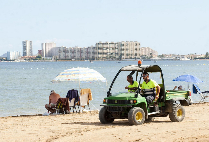 Cartagena beaches: Playa Paraiso