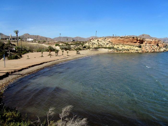 Mazarrón beaches: Playa Negra