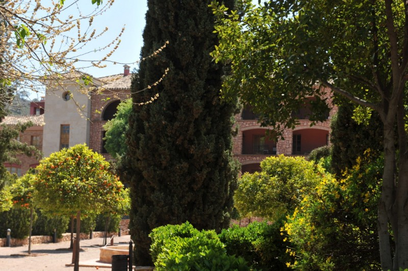 The sanctuary and church of Santa Eulalia in Totana