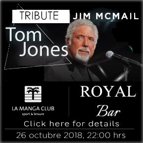 La Manga Club Tom Jones Tribute