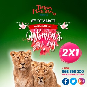 Terra Natura March Womens day 2020 Banner