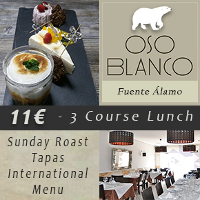 Oso Blanco restaurant Banner