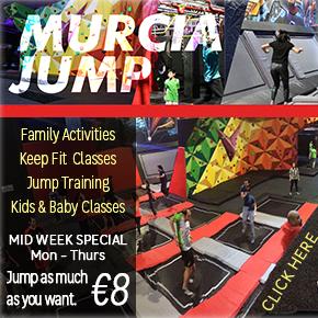 Murcia Jump Banner