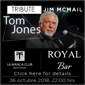La Manga Club Tom Jones Tribute