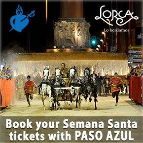 Paso Azul Book Tickest Semana Santa