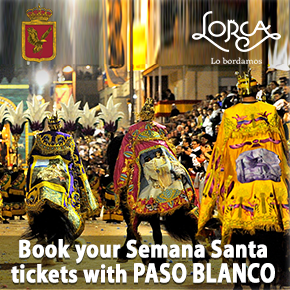 Book Tickets semana santa Paso Blanco
