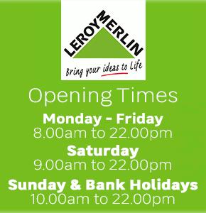 Leroy Merlin Opening Hours