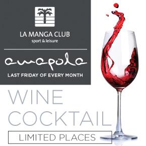 La manga Club Wine Top Banner