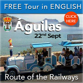 Aguilas Free English Tour Railway