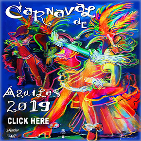 Aguilas Carnival 2019 banner
