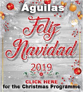 Aguilas Xmas Banner 2019
