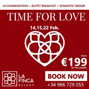 La Finca Hotel Valentines Day