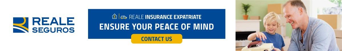 Reale Expat Insurance Across content
