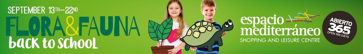 Espacio Mediterraneo Back to School Sponsors Banner