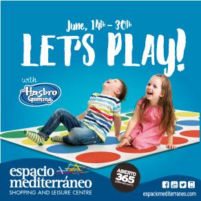 Espacio Mediterraneo Lets play  Sponsors Banner