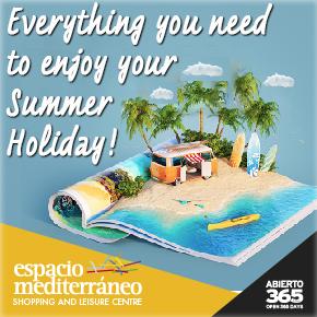Espacio Mediterráneo Summer Holiday weekly Bulletin